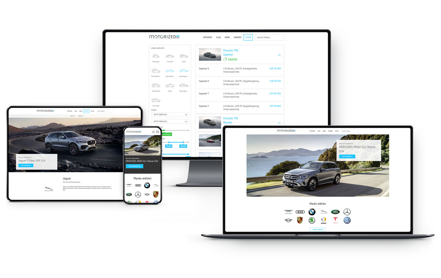 Full responsive web service