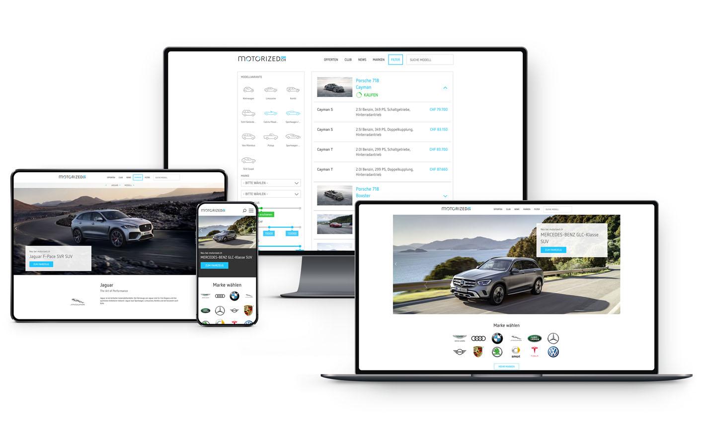 Full responsive web service